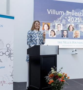 Danish Minister of Higher Education and Science, Ane Halsboe-Jørgensen, , delivered a speech