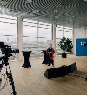 Lisbeth Knudsen, strategidirektør på Tænketanken Mandag Morgen, er tovholder på dagens indlæg - og ansvarlig for ADD-projektets outreach-del