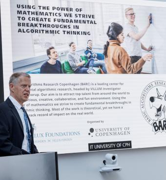 Villum investigator 2017 and professor at Copenhagen University, Mikkel Thorup, gave a sp.eech