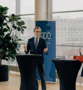 Professor David Budtz Pedersen, Aalborg Universitet er sammen med Lisbeth Knudsen ansvarlig for outreach-delen af ADD-projektet